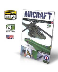 Bøker, ammo-by-mig-jimenez-euro0014-aircraft-modelling-essentials-book-english, EURO0014