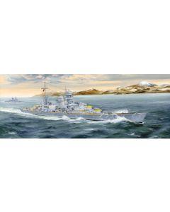 Plastbyggesett, trumpeter-05346-german-heavy-cruiser-blücher-scale-1-350, TRU05346