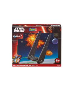 Plastbyggesett, revell-06695-star-wars-kylo-rens-command-shuttle-scale-1-93, REV06695