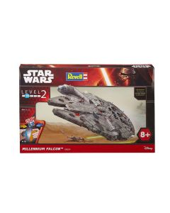 Plastbyggesett, revell-06694-millenium-falcon-easy-kit-star-wars-scale-1-72, REV06694