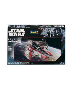 Plastbyggesett, revell-03607-obi-wans-jedi-starfighter-star-wars-scale-1-58, REV03607