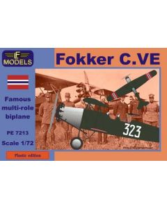 Plastbyggesett, lf-models-pe7213-fokker-c-ve-norwegian-scale-1-72, LFMPE7213