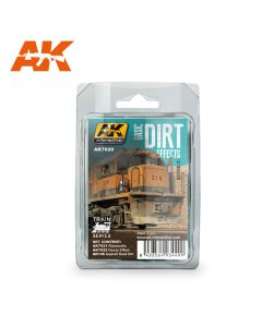 AK Interaktive, aki-interactive-7020-basic-dirt-effect-train-series, AKI7020