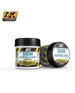 AK Interaktive, ak-interactive-8010-snow-microballoons-diorama-series-100-ml, AKI8010