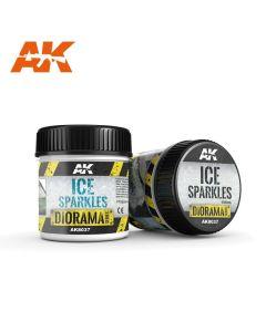 AK Interaktive, ak-interactive-8037-ice-sparkles-diorama-series-100-ml, AKI8037
