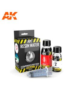 AKI8044, ak-interactive-8044-diorama-series-resin-wasser-2-components-epoxy-180-ml