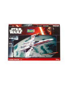 Plastbyggesett, revell-03601-star-wars-x-wing-fighter-scale-1-112, REV03601