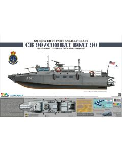 Plastbyggesett, tiger-model-6293-fast-assault-craft-strisbat-90h-scale-1-35, TIG6293