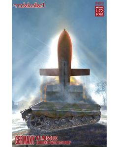Plastbyggesett, modelcollect-ua-72093-german-v1-missle-launcher-e75-body-scale-1-72, MCUA72093