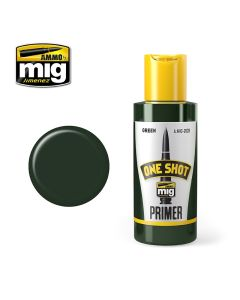 Mig Akrylmaling, Ammo-by-Mig-Jimenez-MIG2028-ONE-SHOT-GREEN-OXIDE-PROFESIONAL-PRIMER, MIG2028