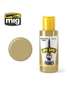 Mig Akrylmaling, Ammo-by-Mig-Jimenez-MIG2027-ONE-SHOT-PRIMER-SAND-FLESH-BASE-PROFESIONAL-PRIMER, MIG2027