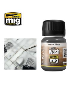 Mig, Ammo-by-Mig-Jimenez-MIG1010-NEUTRAL-WASH-ENAMEL-WASHES-35-mL, MIG1010