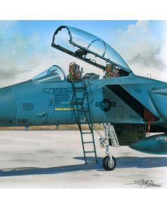 Plastbyggesett, Ladder for F-15 1/48, PLMAL4060