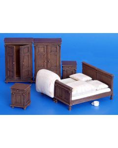 Plastbyggesett, Furniture - Bedroom 1/35, PLM161