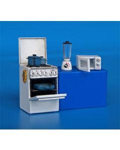 Plastbyggesett, Cooker 1/35, PLM293