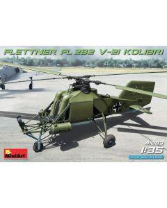 Plastbyggesett, miniart-41003-flettner-fl-282-v-21-kolibri-scale-1-35, MIA41003