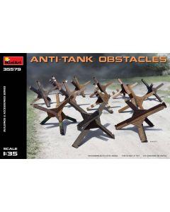 Plastbyggesett, miniart-35579-anti-tank-.obstacles-scale-1-35, MIA35579