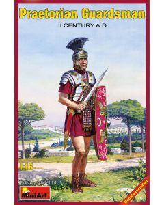 Plastbyggesett, miniart-16006-pretorian-guardsman-scale-1-16, MIA16006