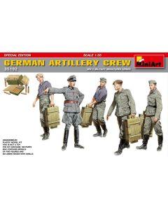Plastbyggesett, miniart-35192-german-artillery-crew-special-edition-scale-1-35, MIA35192