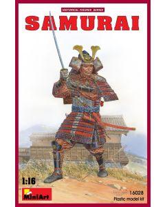 Plastbyggesett, miniart-16028-samurai-scale-1-16, MIA16028