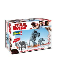 Plastbyggesett, revell-06761-star-wars-first-order-heavy-assult-walker-scale-1-164, REV06761