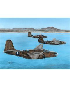 """Plastbyggesett, A-20B Havoc """"MTO"""" 1/72, SPH72557"""