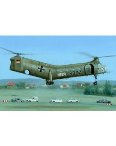 "Plastbyggesett, H-21 Workhorse ""German & French Marking"" 1/48, SPHSH48088"
