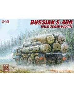 Plastbyggesett, Russian S-400 Missile Launcher Early Type 1/72, MCUA72114