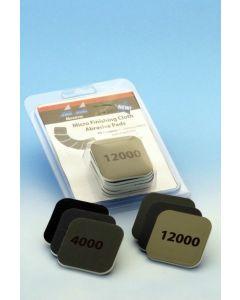 Verktøy, albion-alloys-2000-micro-finishing-clot-abrasive-pads-assorted-pack, ALB2000