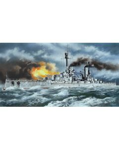 "Plastbyggesett, ""Kronprinz"", WWI German Battleship 1/350, ICMS003"
