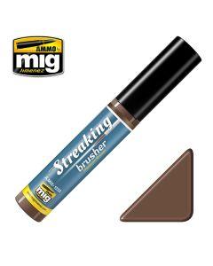 Mig, ammo-by-mig-jimenez-1250-streakingbrusher-medium-brown, MIG1250