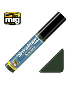 Mig, ammo-by-mig-jimenez-1256-streakingbrusher-green-gray-grime, MIG1256