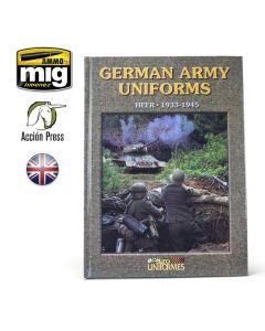 Bøker, ammo-by-mig-jimenez-euro0026-german-army-unforms-heer-1933-1945, EURO0026