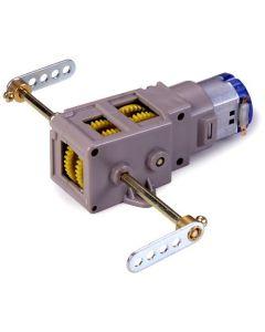 Plastbyggesett, tamiya-70093-3-axle-crank-axle-gearbox, TAM70093
