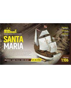 Skutemodeller, mamoli-dusek-mm02-santa-maria-trebyggesett-skala-1-106, DUSMM02