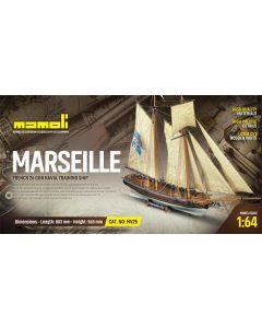 Skutemodeller, mamoli-dusek-mv25-marseille-trebyggesett-skala-1-64, DUSMV25