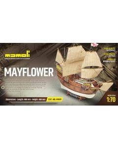 Skutemodeller, mamoli-dusek-mv49-mayflower-trebyggesett-skala-1-70, DUSMV49