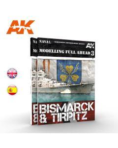 Bøker, ak-interactive-ak-249-modelling-full-ahead-3-bismarck-tirpitz-book, AKI249
