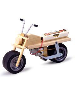 Plastbyggesett, tamiya-70095-mini-bike-educational-kit, TAM70095