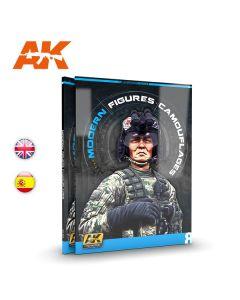 Bøker, ak-interactive-247-modern-figures-camouflages-learning-series-volume-8-english, AKI247