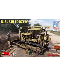 Plastbyggesett, Miniart 38022-us-bulldozer-scale-1-35, MIA38022
