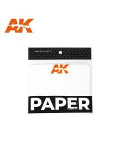 Verktøy, ak-interactive-8074-wet-palette-paper-40-sheets, AKI8074