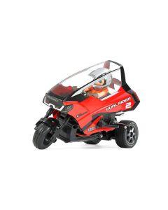 Tamiya RC Bil, tamiya-57407-dual-rider-tripple-wheel-scale-1-8, TAM57407