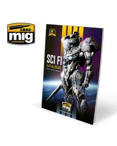 Kataloger, ammo-by-mig-jimenez-8302-sci-fi-catalogue, MIG8302