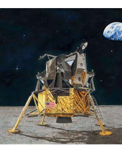 Plastbyggesett, revell-03701-apollo-11-lunar-module-eagle-scale-1-48, REV03701