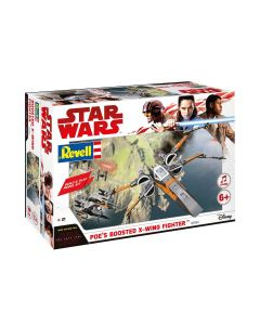 Plastbyggesett, revell-06763-poes-boosted-x-wing-fighter-build-and-play-scale-1-78, REV06763