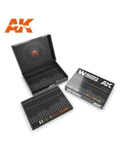 AK Interaktive, ak-interactive-10047-weathering-pencils-deluxe-edition-box, AKI10047