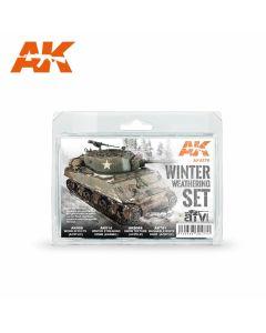 AK Interaktive, ak-interactive-ak4270-winter-weathering-set, AKI4270
