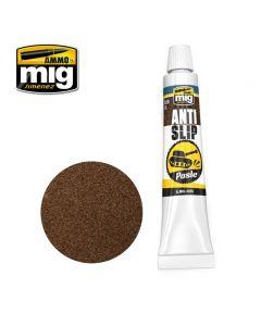 Mig, ammo-by-mig-jimenez-mig2035-anti-slip-paste-brown, MIG2035