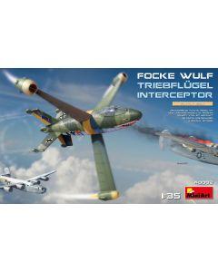 Plastbyggesett, miniart-40002-focke-wulf-triebflugel-interceptor-scale-1-35, MIA40002